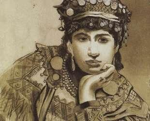 Черногорская девушка — Василий Поленов