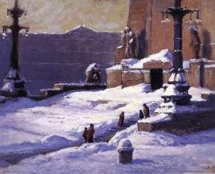 Monument in the Snow — Теодор Клемент Стил