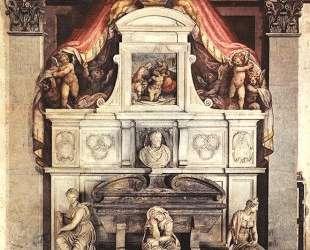 Monument to Michelangelo — Джорджо Вазари