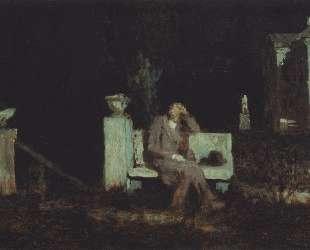 Лунная ночь. Раздумье — Архип Куинджи