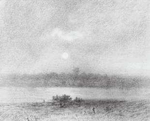 Лунная ночь на реке — Архип Куинджи