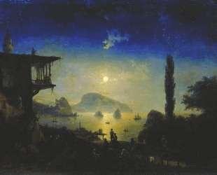 Лунная ночь в Крыму. Гурзуф — Иван Айвазовский