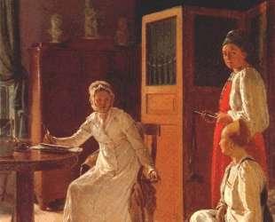 Morning of the Landlady — Алексей Венецианов