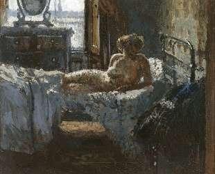 Mornington Crescent nude, contre-jour — Уолтер Сикерт