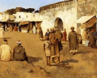 Moroccan Market — Тео ван Рейссельберге