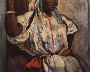 Марокканка в белом — Зинаида Серебрякова