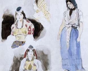 Марокканские женщины — Эжен Делакруа