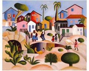 Morro da favela — Тарсила ду Амарал