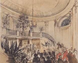 Mortuary in a palace — Рудольф фон Альт