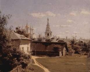 Московский дворик — Василий Поленов