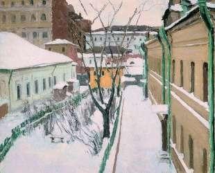 Московский дворик — Игорь Грабарь
