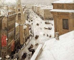 Улица Москвы (Тверская) — Игорь Грабарь