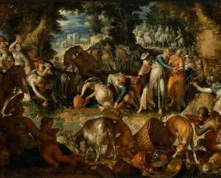 Moses Striking the Rock — Йоахим Эйтевал