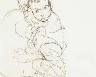 Mother and Child — Эгон Шиле
