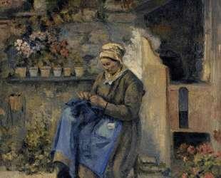 Mother Jolly — Камиль Писсарро