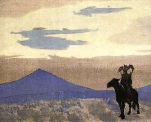 Мать Чингиз-Хана — Николай Рерих