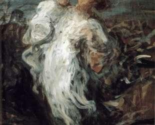 Мать с ребенком — Оноре Домье