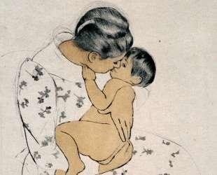 Материнский поцелуй — Мэри Кассат