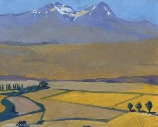 Mount Aragats at summer — Мартирос Сарьян