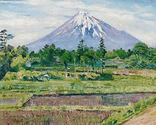 Гора Фуджи, Япония — Давид Бурлюк
