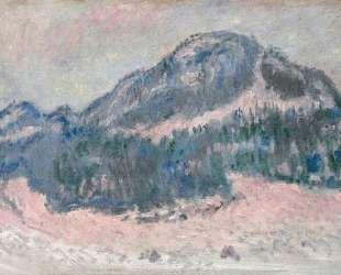 Гора Колсаас, розовое отражение — Клод Моне