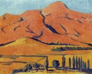 Mount Shamiram — Мартирос Сарьян