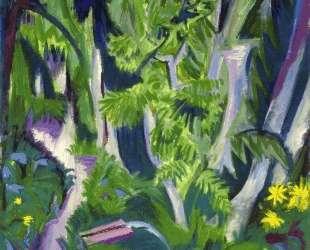 Mountain Forest — Эрнст Людвиг Кирхнер