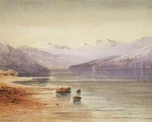 Горное озеро. Швейцария — Алексей Саврасов