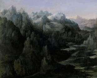 Горная гряда — Альбрехт Альтдорфер