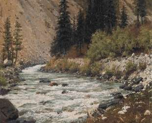 Mountain stream in Kashmir — Василий Верещагин