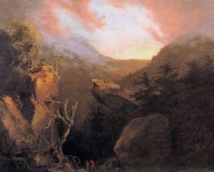 Mountain Sunrise — Томас Коул