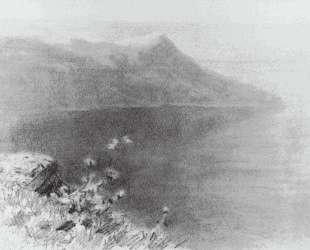 Горы на берегу — Архип Куинджи