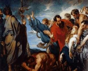 Моисей и медный змей — Антонис ван Дейк