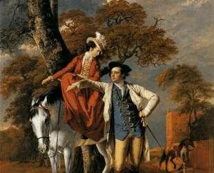 Mr. and Mrs. Thomas Coltman — Джозеф Райт