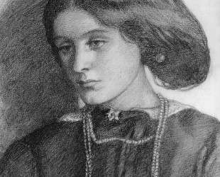 Mrs. Burne Jones — Данте Габриэль Россетти