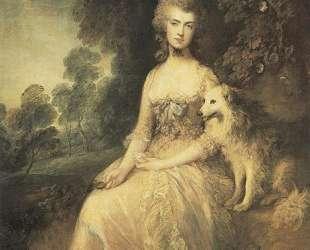 Mrs. Mary Robinson ('Perdita') — Томас Гейнсборо