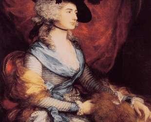 Mrs. Sarah Siddons, the actress — Томас Гейнсборо