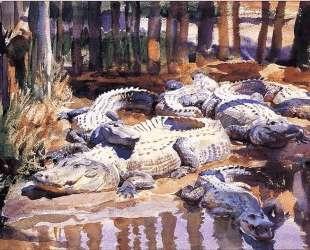 Muddy Alligators — Джон Сингер Сарджент