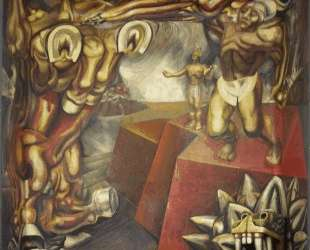 Mural — Давид Альфаро Сикейрос