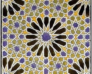 Mural Mosaic in The Alhambra — Мауриц Корнелис Эшер