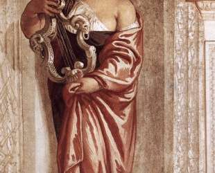 Muse with Lyre — Паоло Веронезе