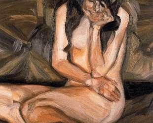 Смеющийся обнаженный ребенок — Люсьен Фрейд