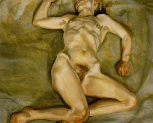 Спящая обнаженная девушка II — Люсьен Фрейд