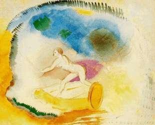 Naked Woman on a Car — Одилон Редон