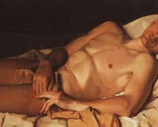 Обнаженный юноша (Б. М.Снежковский) — Константин Сомов