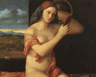 Обнаженная перед зеркалом — Джованни Беллини