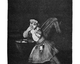 Nanny's boy — Франсиско де Гойя