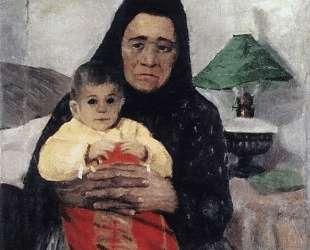 Няня с ребенком — Игорь Грабарь