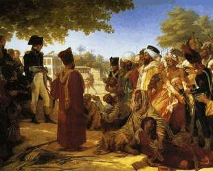 Napoleon Bonaparte Pardoning the Rebels at Cairo — Пьер-Нарцисс Герен
