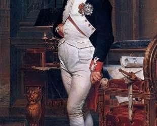 Наполеон Бонапарт в своем кабинете в Тюильри — Жак Луи Давид